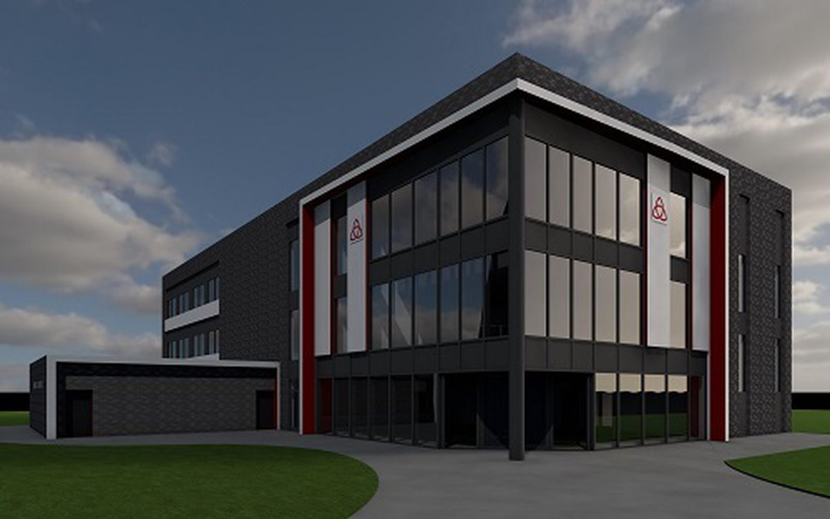 Holy Trinity Academy in Priorslee is being expanded