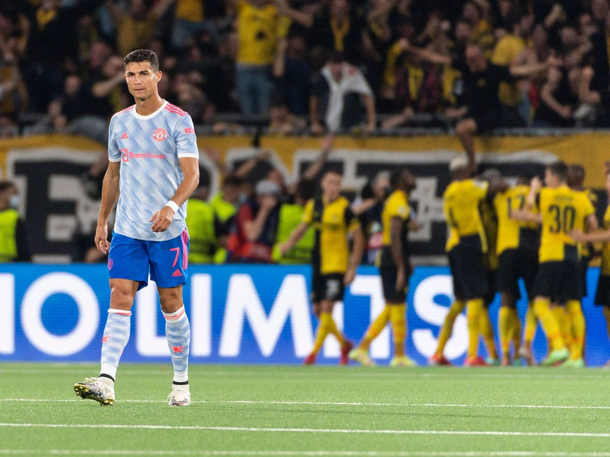 Not even Cristiano Ronaldo could spare Manchester United's blushes in Bern