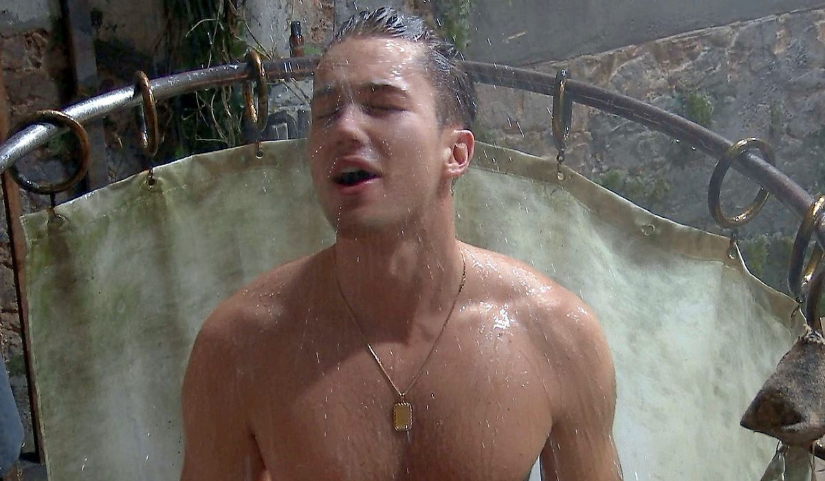 Dancer AJ Pritchard recovers from his bugs ordeal after being picked out to take part in a Bushtucker Trial