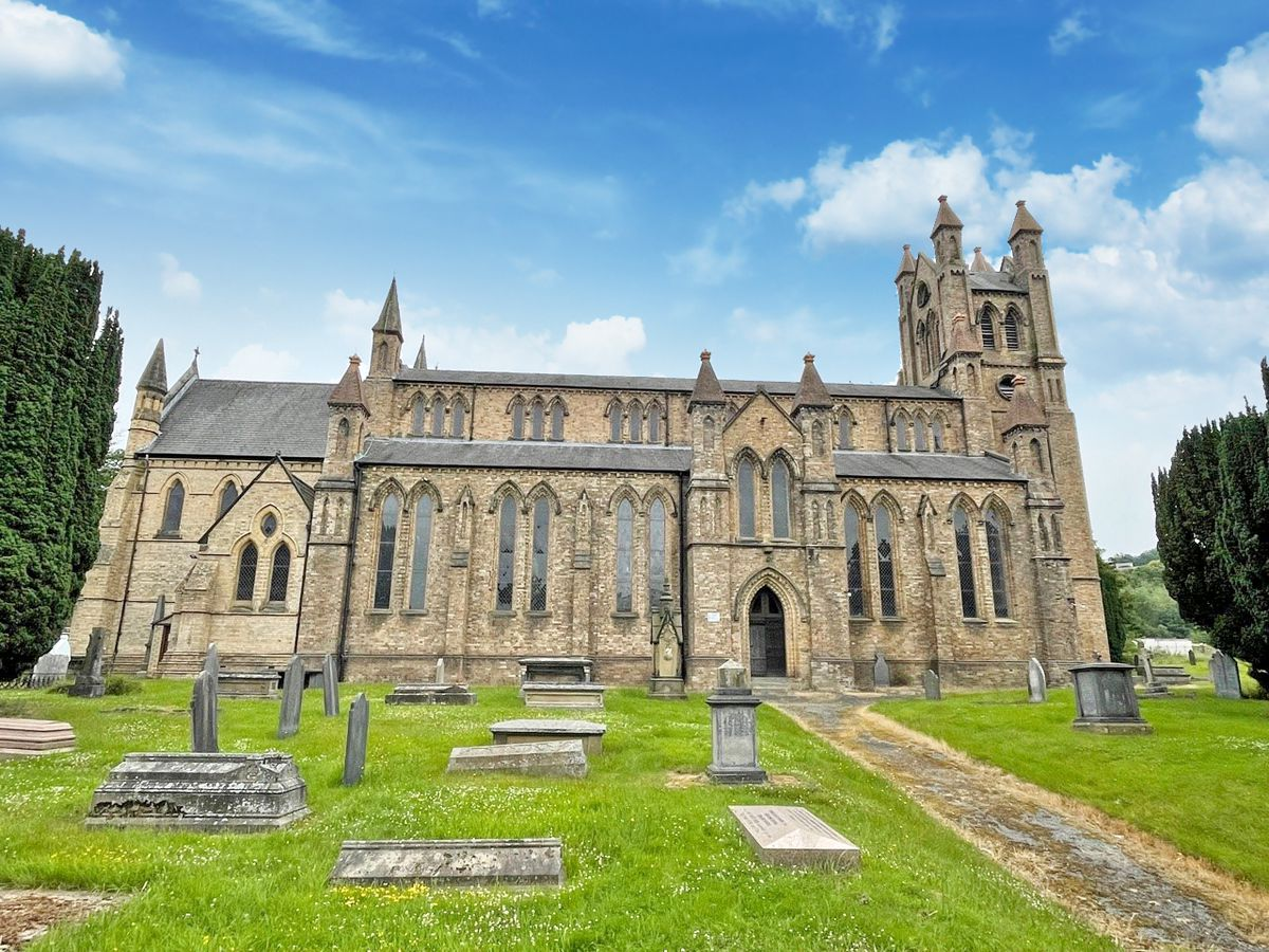 St David's Church in Newtown is up for sale