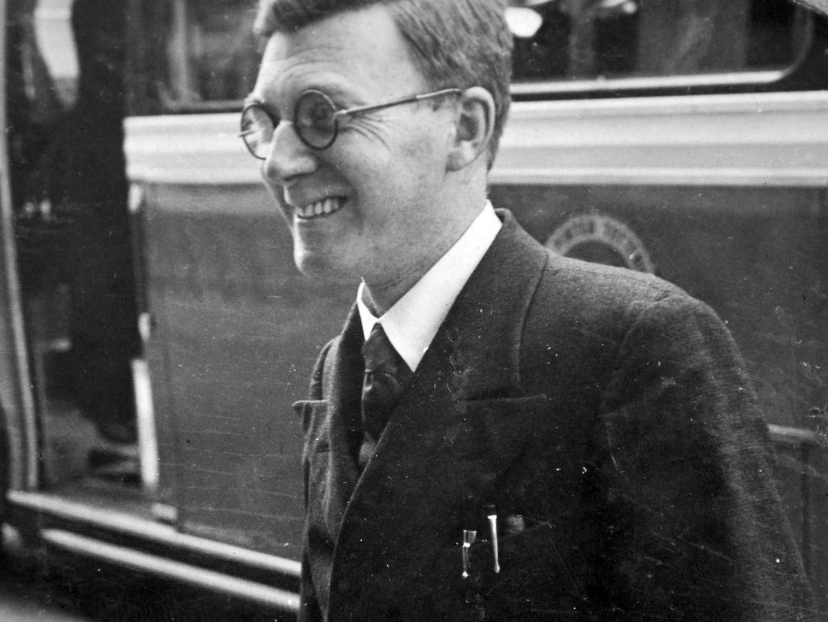 Eddie Lloyd in 1935.