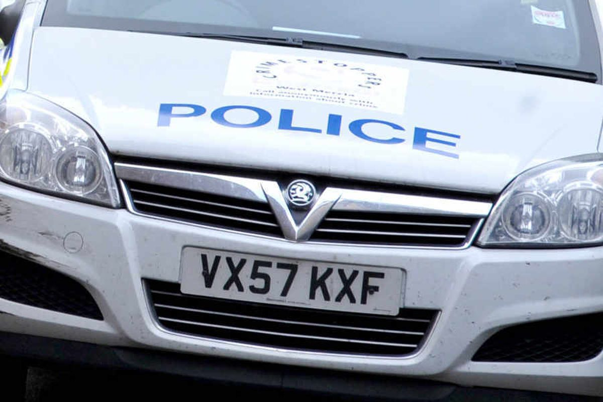 Man stabbed in the neck with bottle in Telford in suspected racist attack