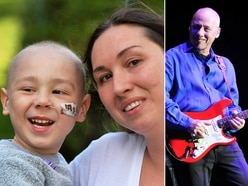 Let's Back Zac: Superstar guitarist Mark Knopfler boosts brave Broseley four-year-old's fund