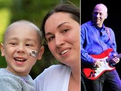 Let's Back Zac: Superstar guitarist Mark Knopfler boosts brave Broseley four-year-old's fund