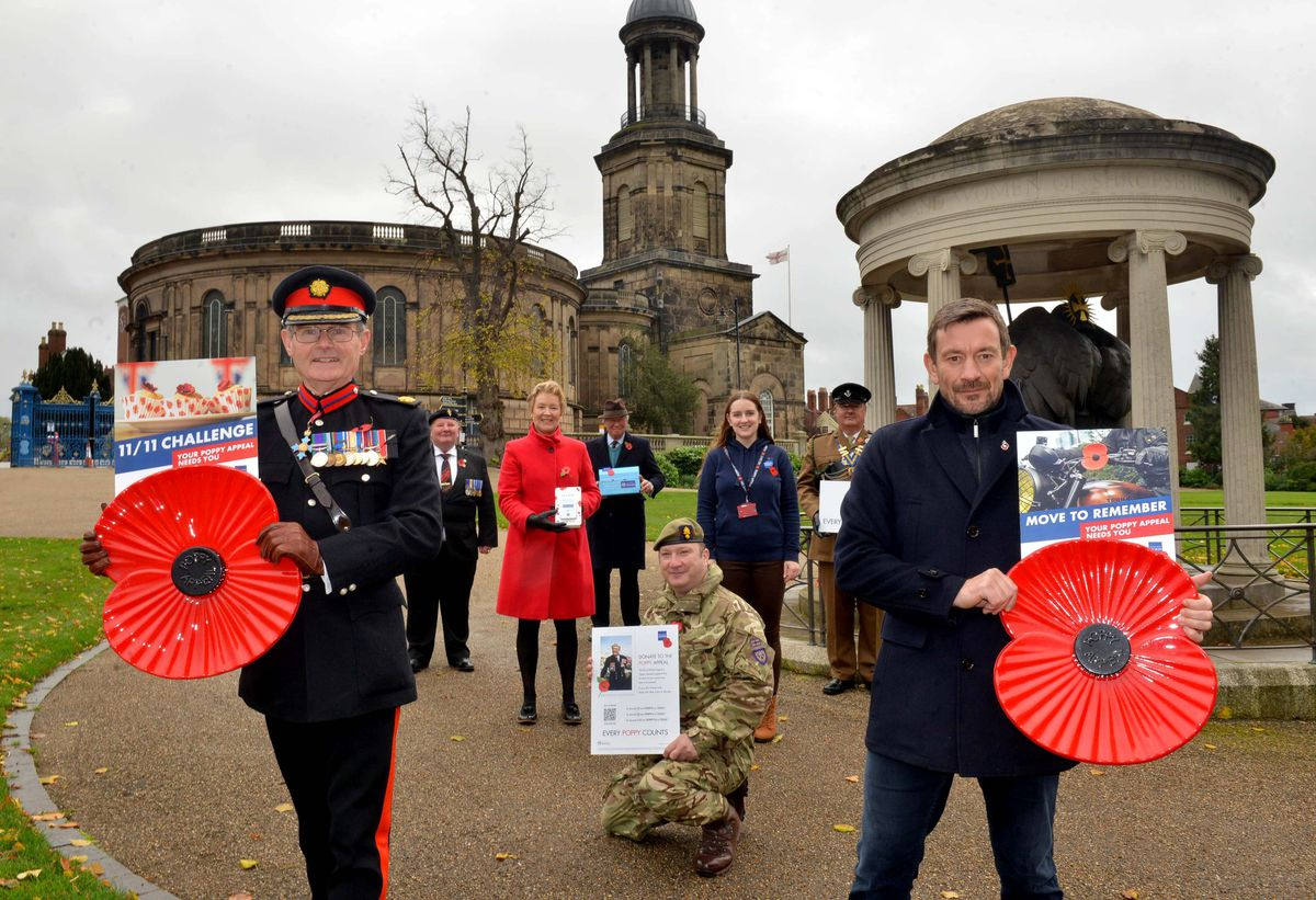 The Royal British Legion has launched its Poppy Appeal