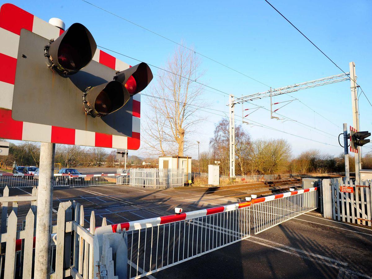 Level crossing stock