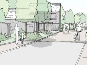 Healey Estate's Longford Turning - artist impression