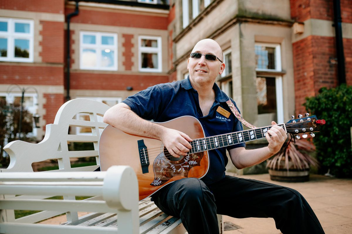 Registered dementia nurse Jon Breese has written and performed a song paying tribute to lockdown heroes