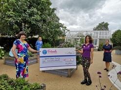 Horatio's Garden at Shropshire hospital benefits from £1,000 donation