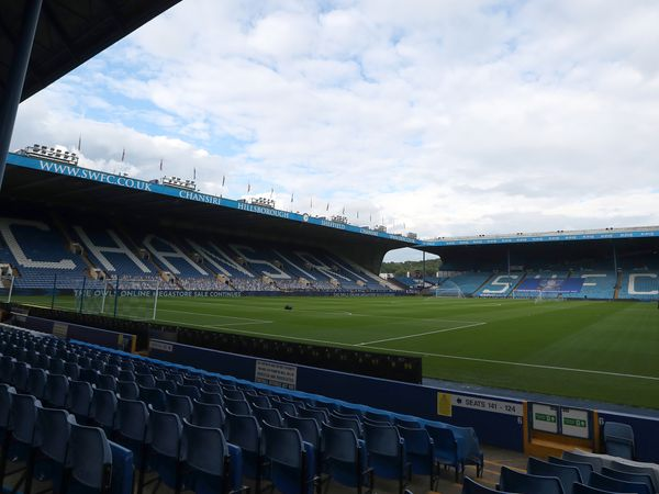 GV / General View of the pitch at Hillsborough the home of Sheffield Wednesday.