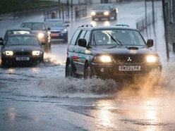 Flood warnings in place and cars stranded as Shropshire braces for more rain
