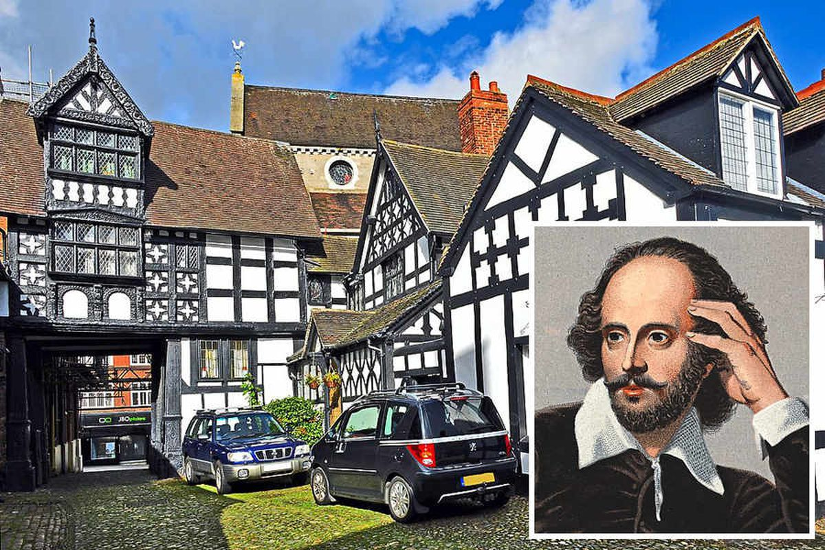 When Shakespeare played Shrewsbury: Evidence points to Bard's appearance in county town