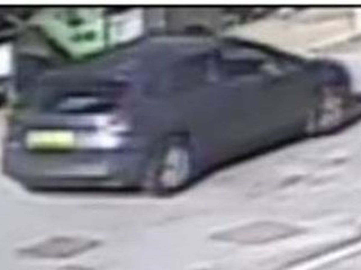 The photo of the car released by police