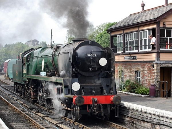 Severn Valley Railway waves goodbye to Sir Keith Park