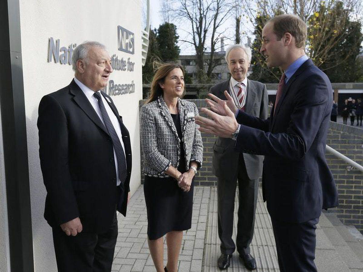 Royal visit to the Royal Marsden