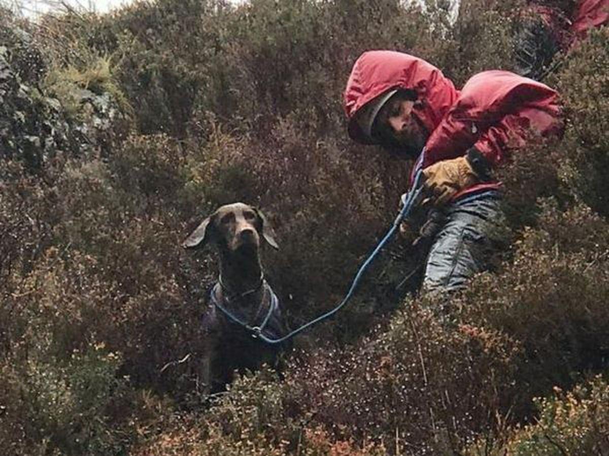 A rescuer reacher Betsy