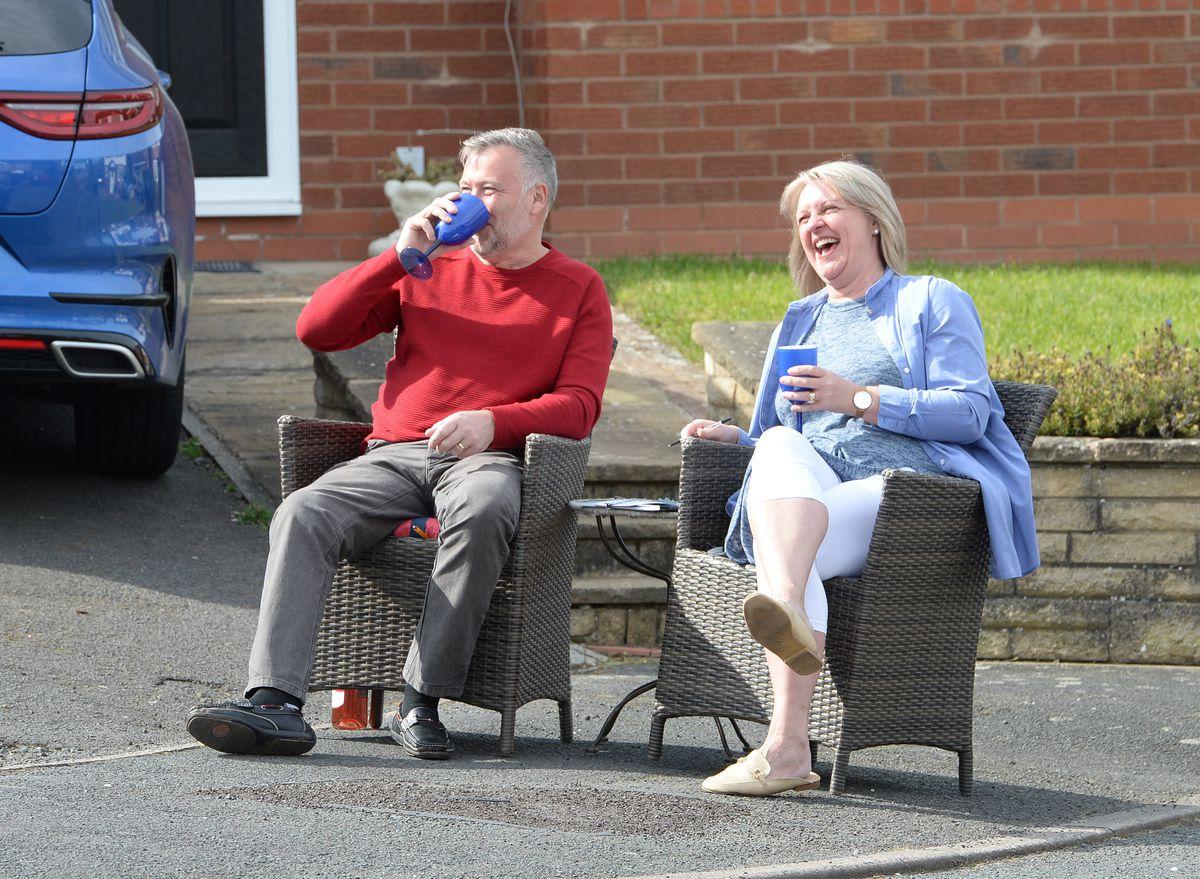 Residents enjoy a game of bingo