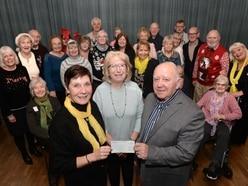 Albrighton residents raise money for carers' group