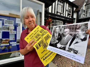 Linda Fletcher from Newport History Society has been putting on an exhibition about the late Doug Keddie MBE, including items from the Newport Boys Club, which he was a pivotal part of