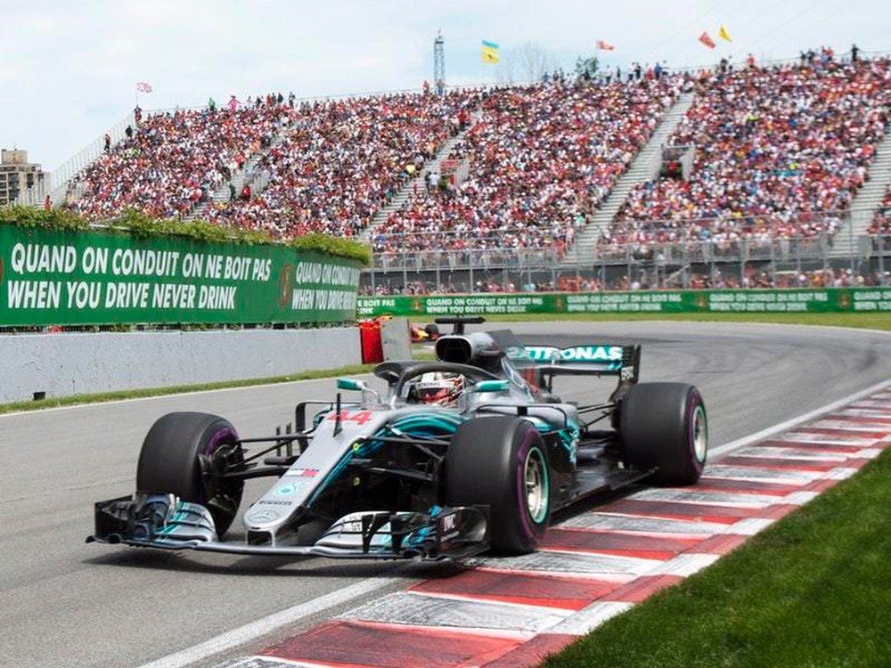 Mercedes loses ground in Canadian Grand Prix