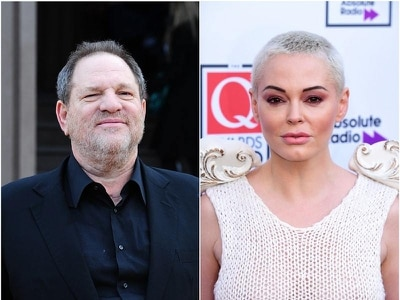 Rose McGowan accuses Harvey Weinstein in lawsuit of racketeering
