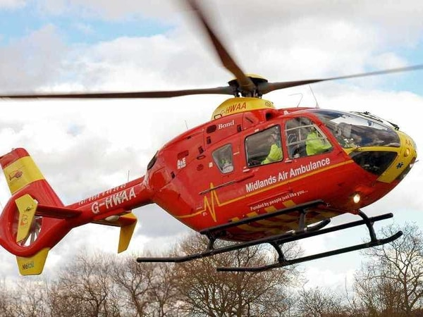 Three people taken to hospital after two-car crash in Bridgnorth