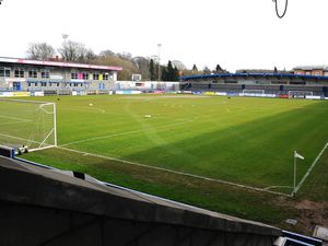 TELFORD COPYRIGHT MIKE SHERIDAN General View of the New Bucks head during the Vanarama Conference North fixture between AFC Telford United and Kettering at The New Bucks Head on Saturday, March 14, 2020...Picture credit: Mike Sheridan/Ultrapress..MS201920-050.