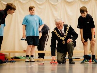 School games a success in Shrewsbury