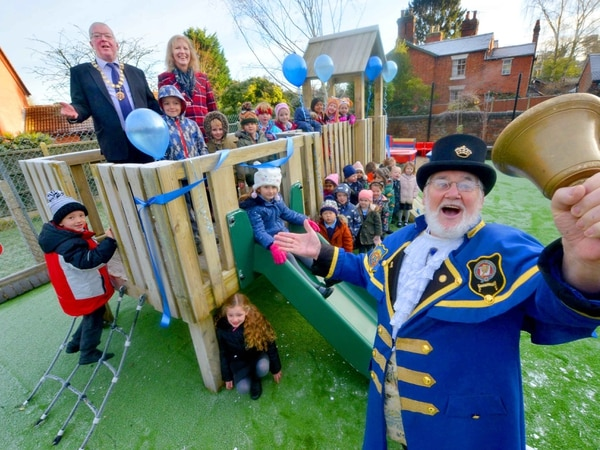 Newly-refurbished playground for Newport youngsters