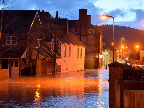 Storm Dennis: River nears peak as Ludlow hit by worst flooding in 12 years