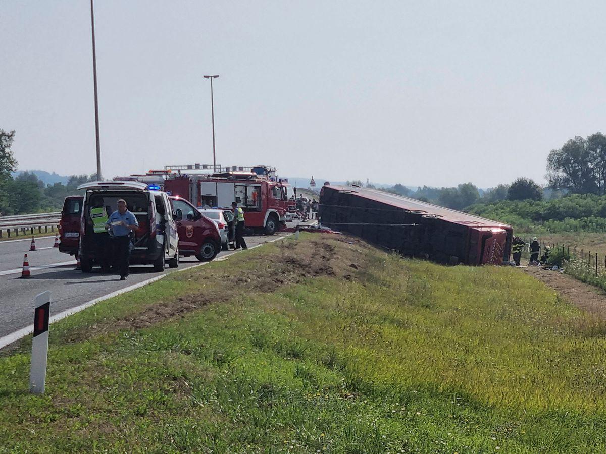 Croatia bus crash