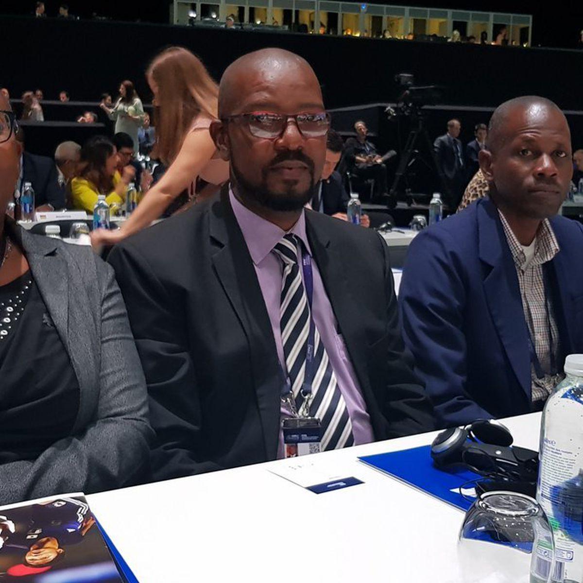 President of the Grenada Football Association Cheney Joseph