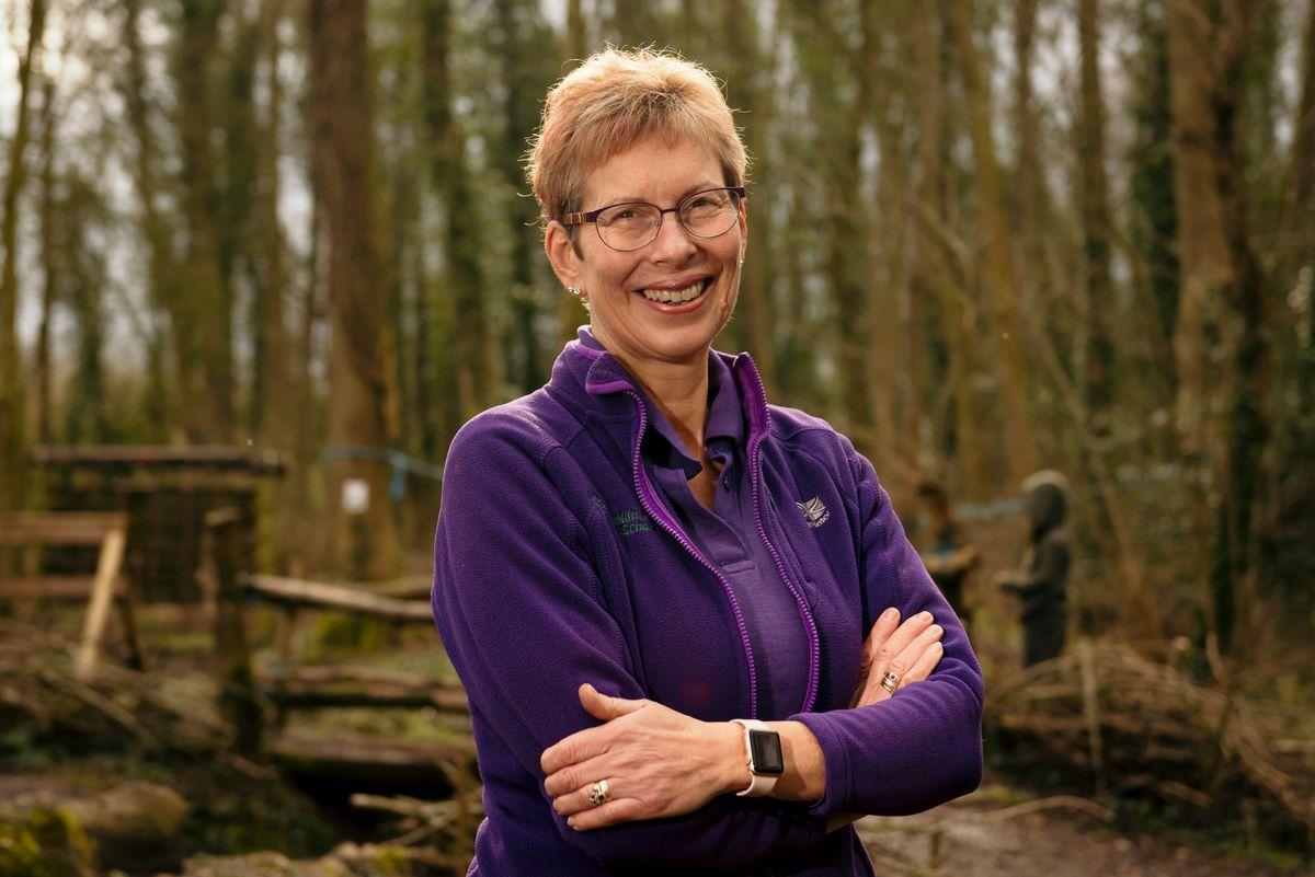 Judy Ellis from Wrekin Forest School