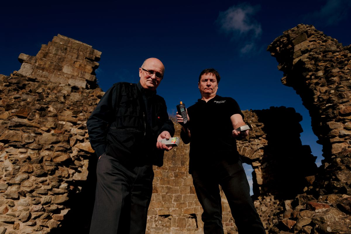 Chris Morris and Adam Millward have carried out numerous investigations at Whittington Castle