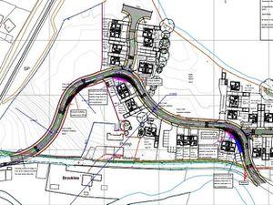 The Abermule homes plan
