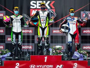 Booth-Amos bagged two more podiums in France