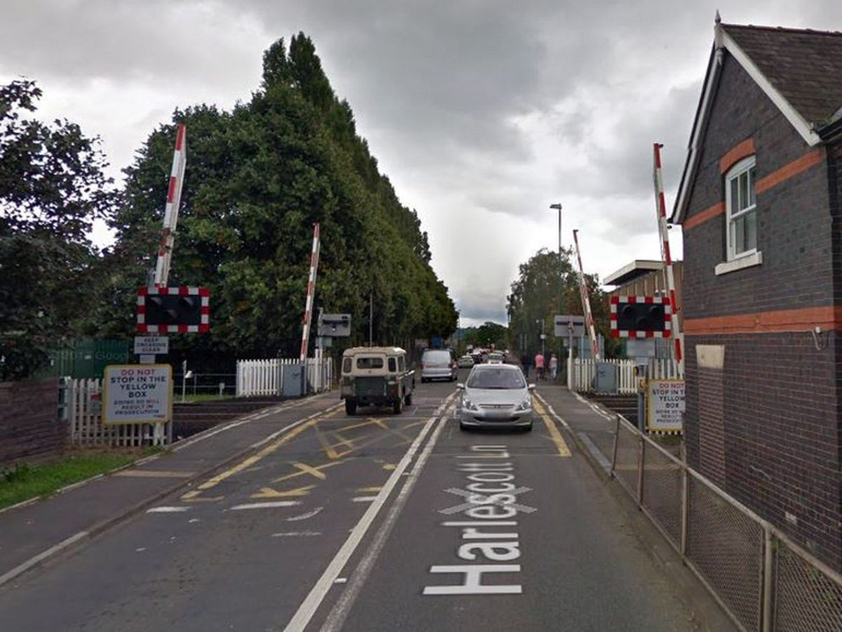 Harlescott Level Crossing. Photo: Google StreetView.