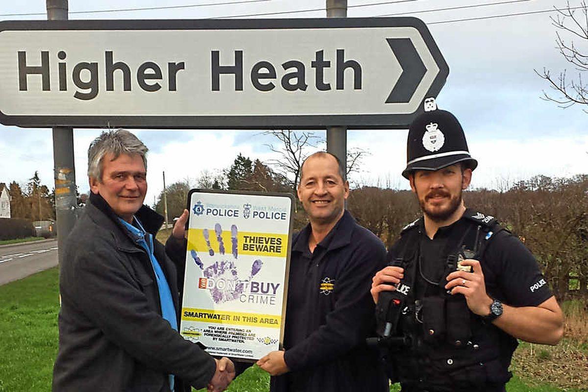 Shropshire village makes smart move to stop crime