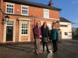 Village pub near Oswestry given new lease of life after being bought by local couple