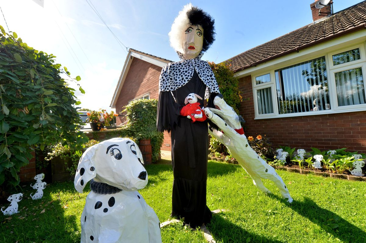 The winner in the fun category, Cruella from 101 Dalmations, made by Michelle Williams