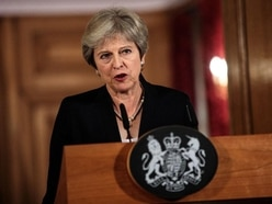 Britain 'staring down the barrel of no deal' as May fights back over Brexit