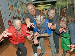 Zombie invasion at Telford Shopping Centre