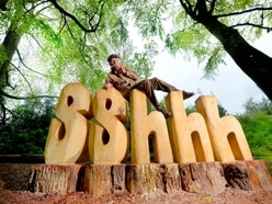Shout it out! Sshhh sculpture back in place at The Mere