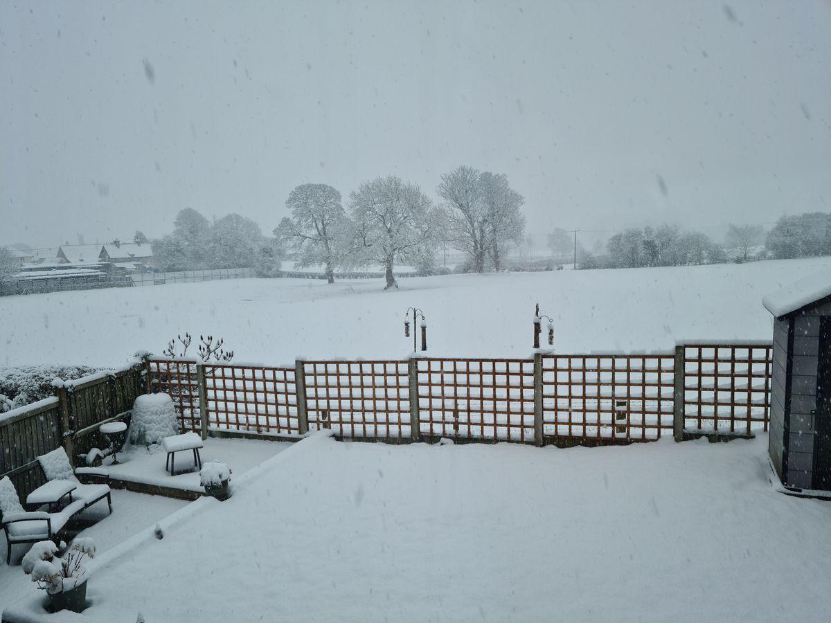 Snow in Morda, near Oswestry. Photo: Deb Antrobus
