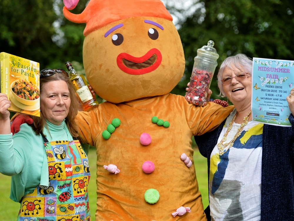 All the fun of a midsummer fair for Market Drayton