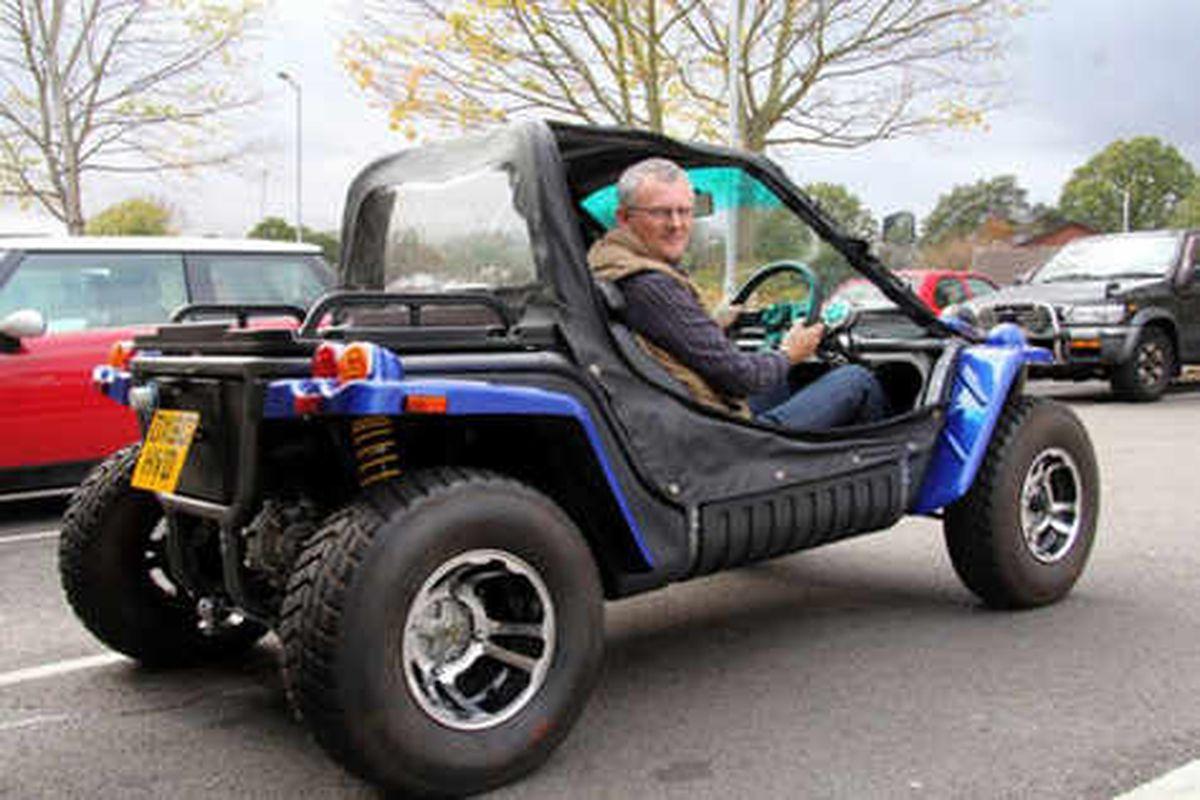 Electric road quads fit the second car bill