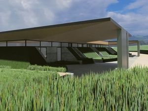 An artist's impression of how the site could look once completed