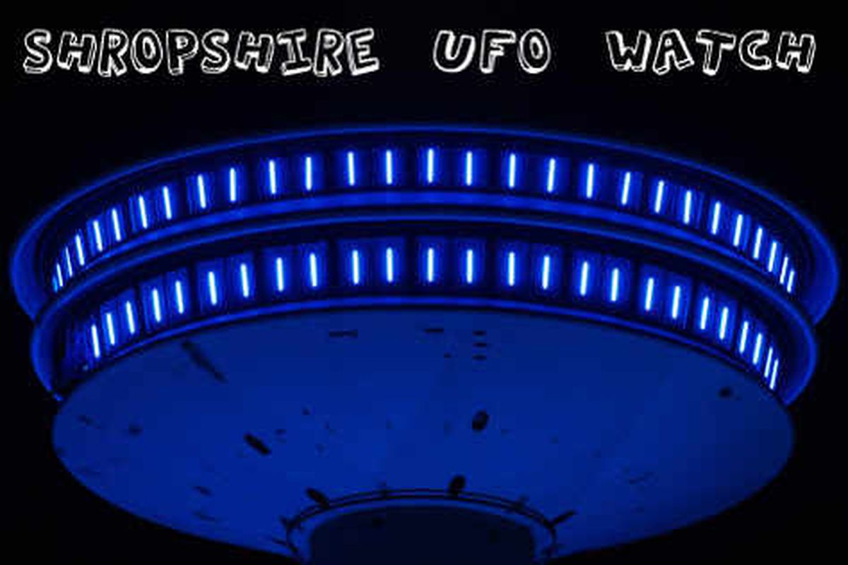 Another UFO reported over Shropshire