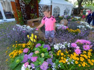 Last year's flower show was a hit with young and old