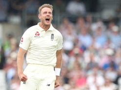 Stuart Broad takes hat-trick as England enjoy fine day in the Caribbean